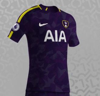 Tottenham 2018 3eme maillot prediction possible
