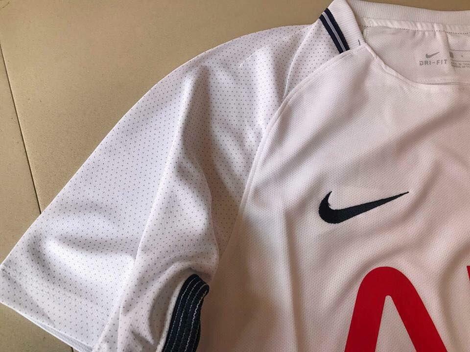 Tottenham 2018 maillot de foot domicile zoom