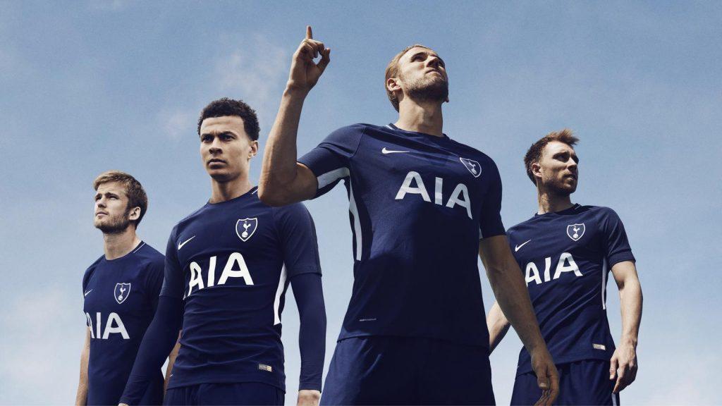Tottenham 2018 maillot de foot exterieur 17 18