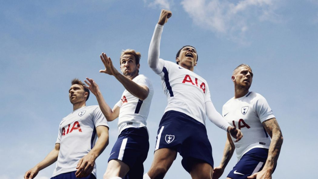 Tottenham 2018 maillot de football domicile 17 18