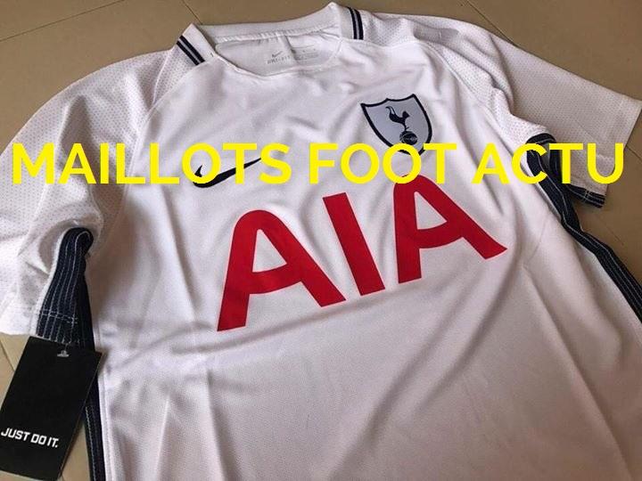 Tottenham 2018 maillot domicile fuite Nike