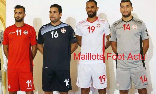 Voici les nouveaux maillots de foot Tunisie CAN 2017
