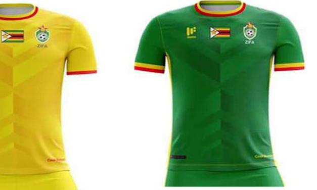 Les maillots de foot Zimbabwe CAN 2017 par Mafro