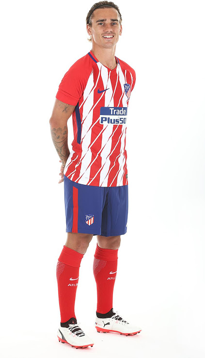 Atletico Madrid 2018 maillot de foot domicile Nike 2017 2018