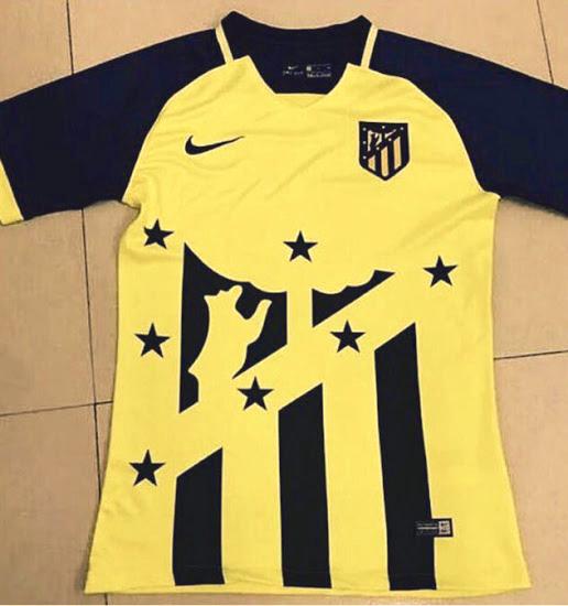 Atletico Madrid 2018 maillot de foot extérieur possible fuite