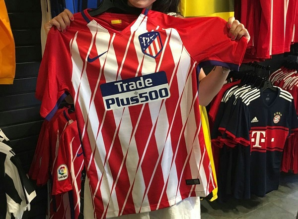 Atletico Madrid 2018 maillot domicile football 17 18