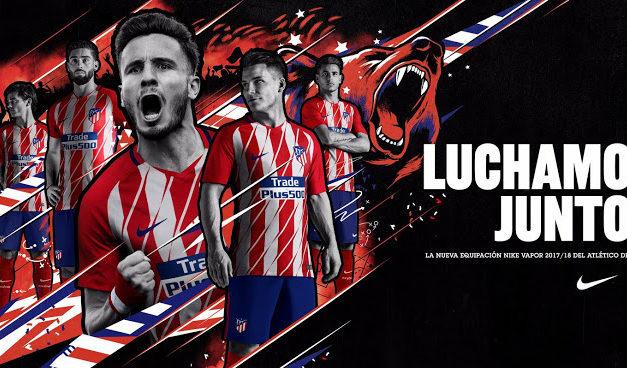 Les 3 nouveaux maillots de foot Atletico Madrid 2018
