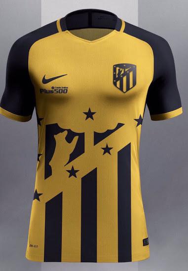 Atletico Madrid 2018 maillot extérieur possible fuite