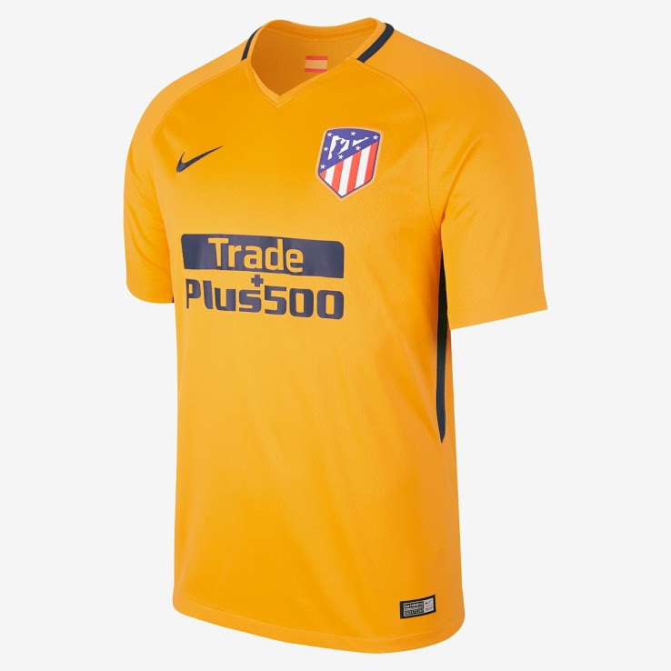 Atletico Madrid 2018 maillot exterieur foot 17 18