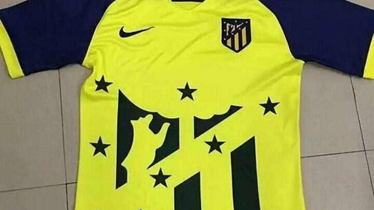 Atletico Madrid 2018 possible maillot extérieur