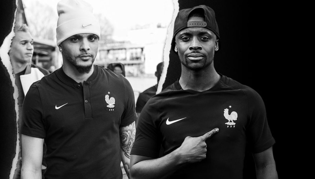 France 2017 troisième maillot de foot noir