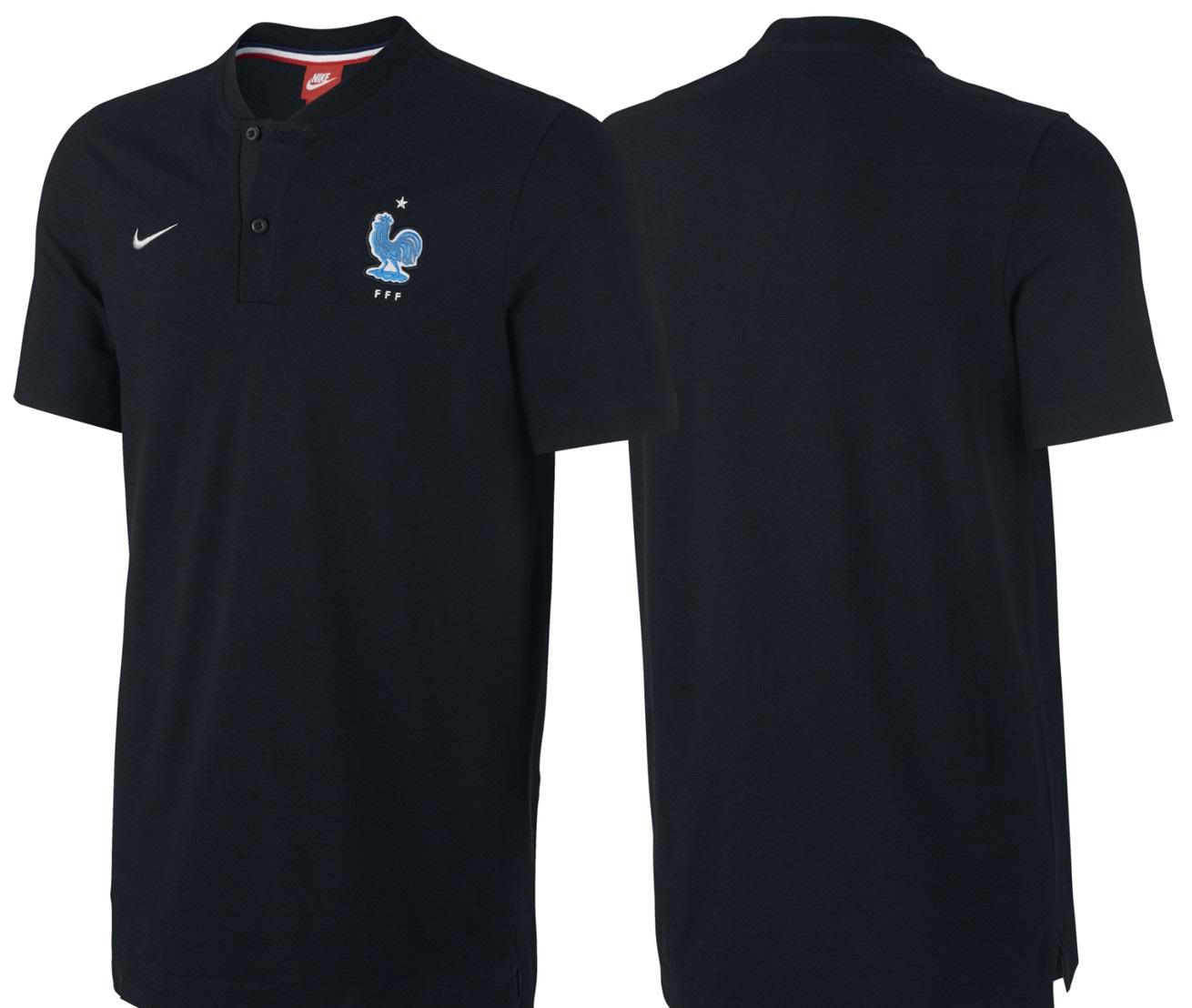 Polo noir France 2017