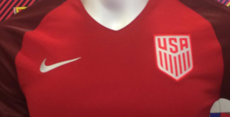 USA 2017 maillot third Nike Etats Unis