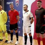 Les nouveaux maillots de l'Albanie 2017