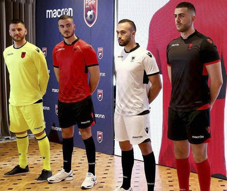Albanie 2017 les maillots de football