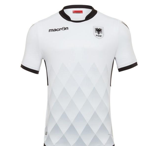 Albanie 2017 maillot extérieur foot Macron