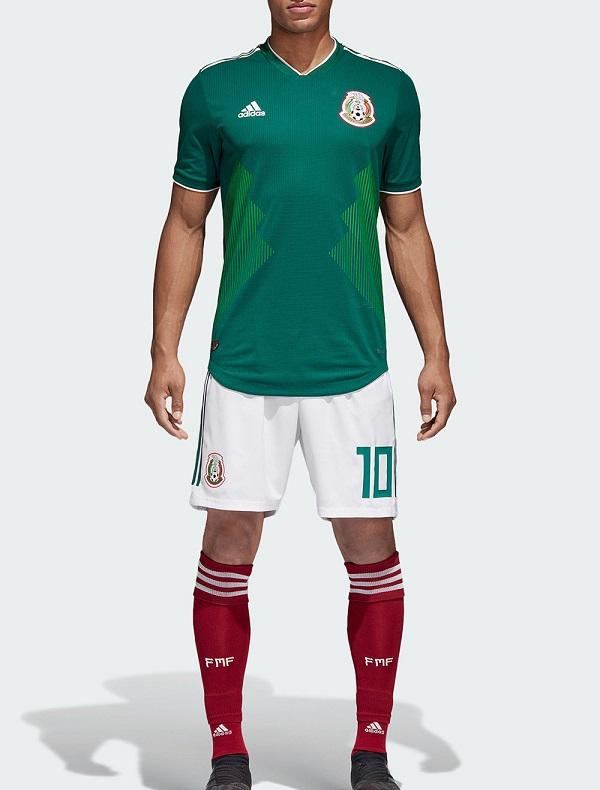 Mexique 2018 maillot de foot officiel domicile coupe du monde 2018