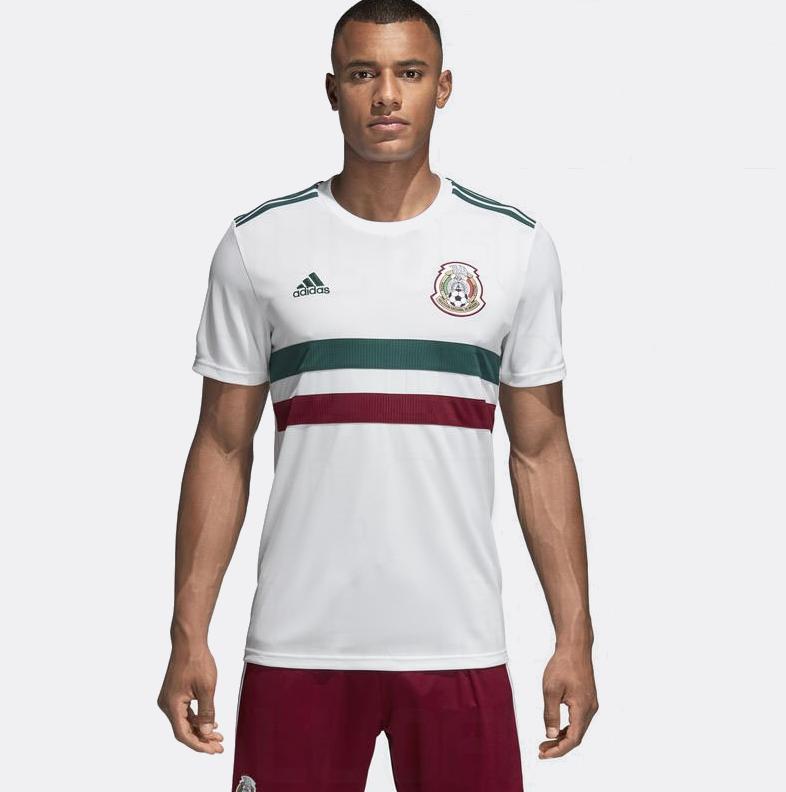 Mexique 2018 maillot exterieur blanc coupe du monde