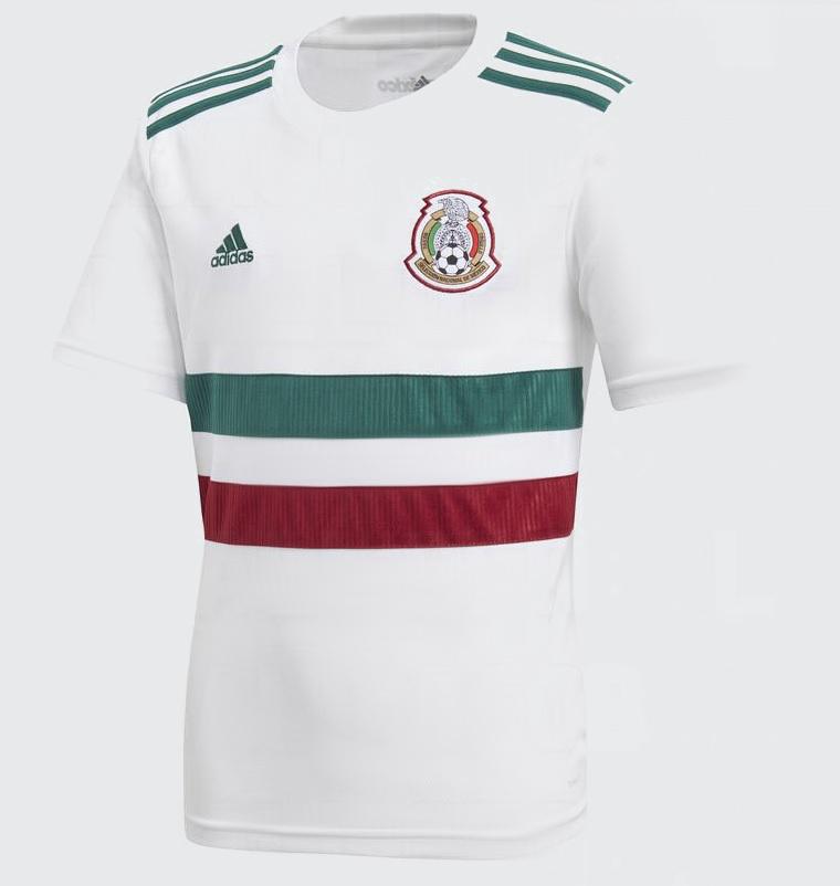 Mexique 2018 maillot exterieur foot coupe du monde 2018