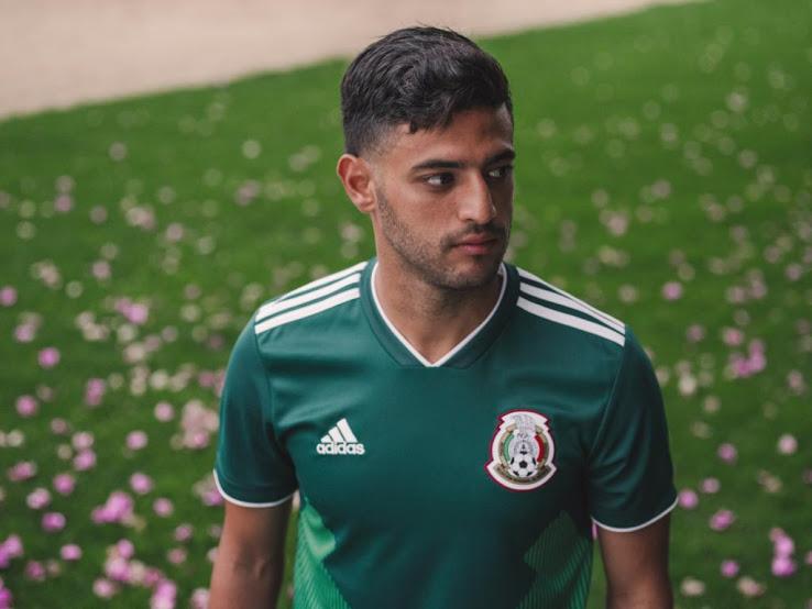 Mexique 2018 maillot foot domicile vert officiel coupe du monde 2018