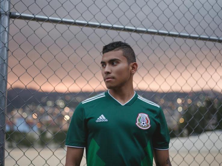 Mexique 2018 maillot foot domicile vert officiel
