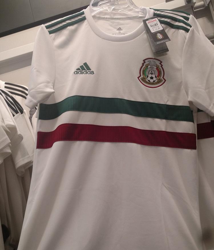 Mexique 2018 maillot foot exterieur coupe du monde