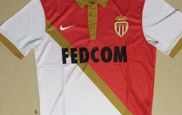 Le nouveau maillot de foot AS Monaco 2018