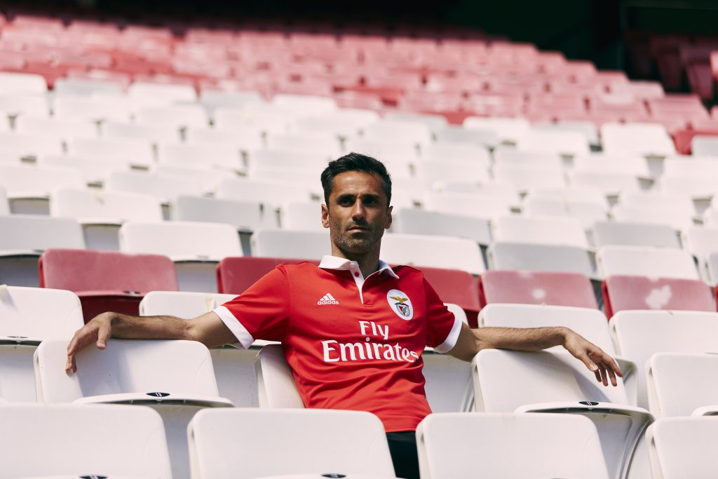Benfica 2017 2018 maillot de foot rouge Adidas