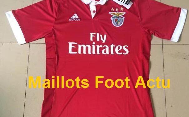 Les nouveaux maillots de foot Benfica 2018