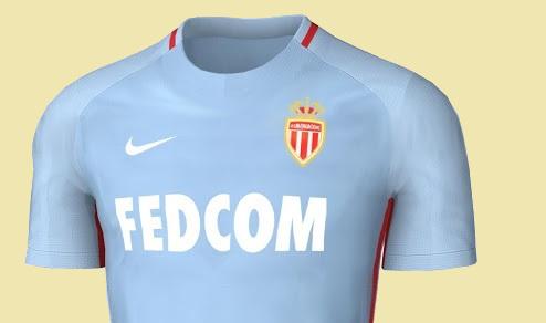 Le nouveau maillot de foot AS Monaco 2018