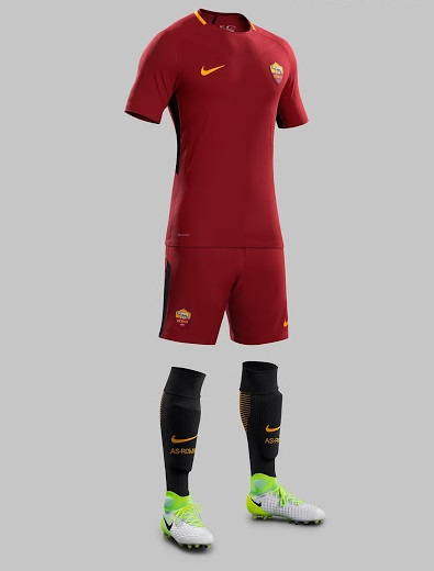 AS Roma 2018 maillot domicile foot 17 18