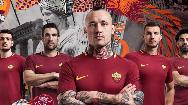 AS Roma 2018 les maillots de football faits par Nike