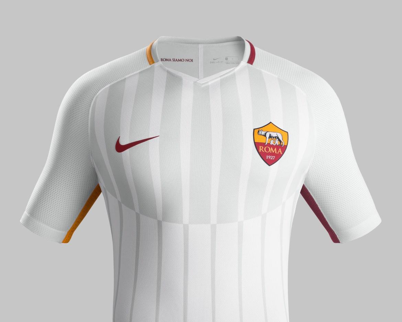 AS Roma 2018 nouveau maillto exterieur 2017 2018 Nike