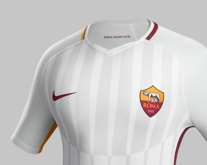 AS Rome 2018 maillot de foot exterieur blanc