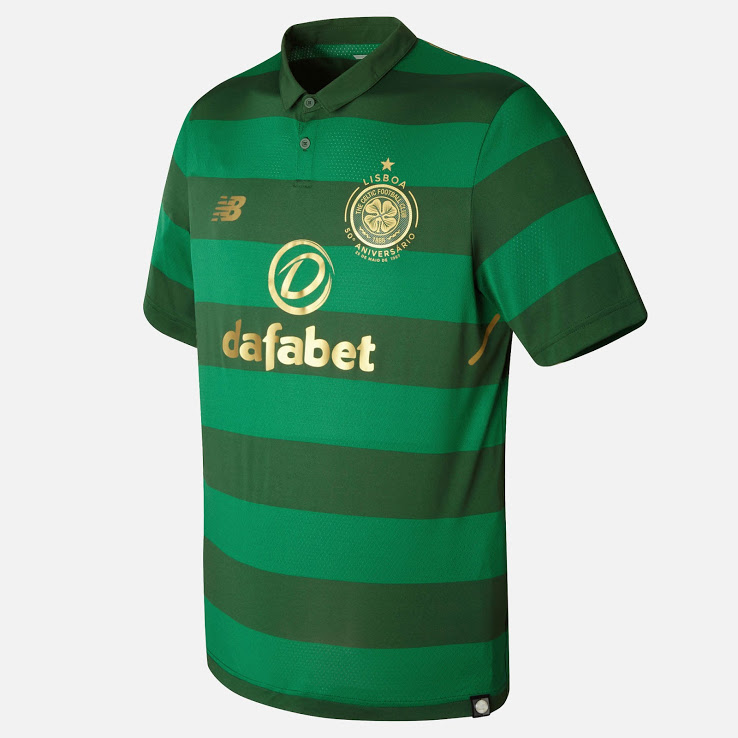 Celtic 2018 maillot de foot ball extérieur vert 17 18