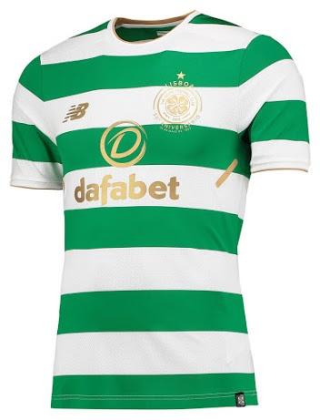 Celtic Glasgow 2018 maillot foot domicile