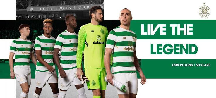 Celtic 2018 maillot domicile officiel 17 18