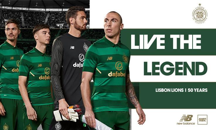 Celtic 2018 maillot extérieur officiel New Balance