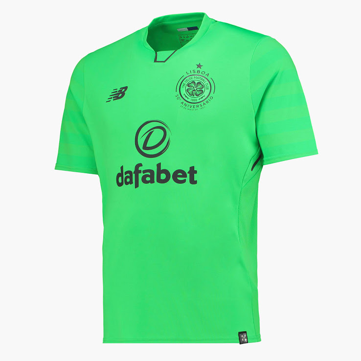 Celtic 2018 maillot third vert NB