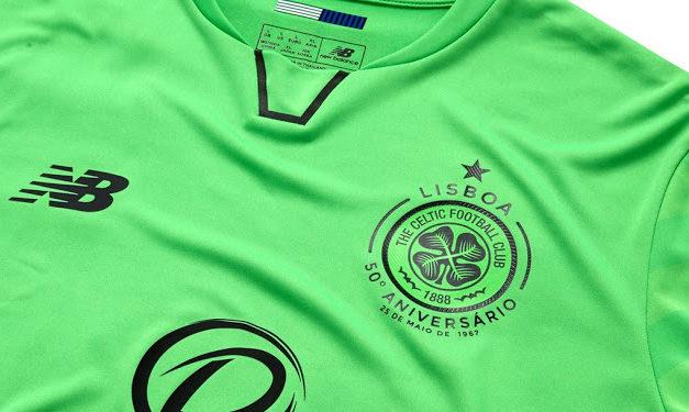 Les nouveaux maillots de foot Celtic 2018