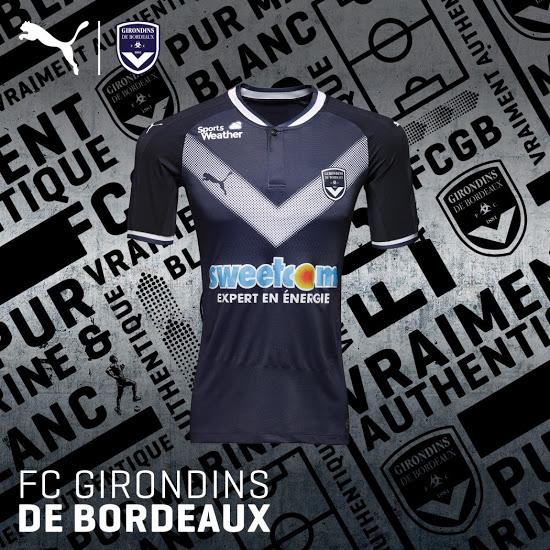 Girondins de Bordeaux 2018 maillot de domicile Puma