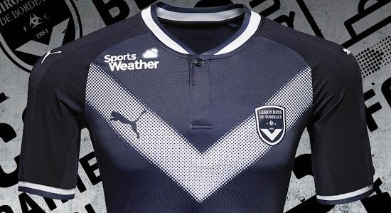 Les maillots de foot Girondins Bordeaux 2018