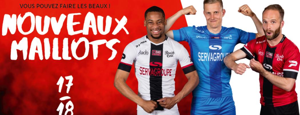 Maillots de foot Guingamp 2018