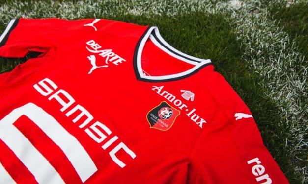Stade Rennais les nouveaux maillots foot Rennes 2018