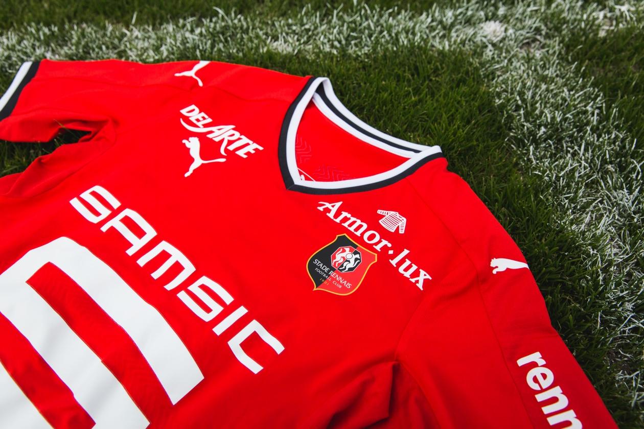 Rennes 2018 maillots de football