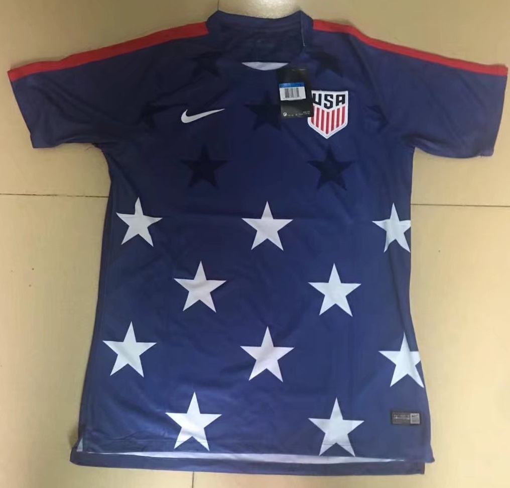 USA 2017 maillot foot Etats Unis Gold Cup