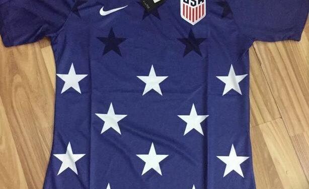 Le maillot pre-match USA 2017 de la Gold Cup