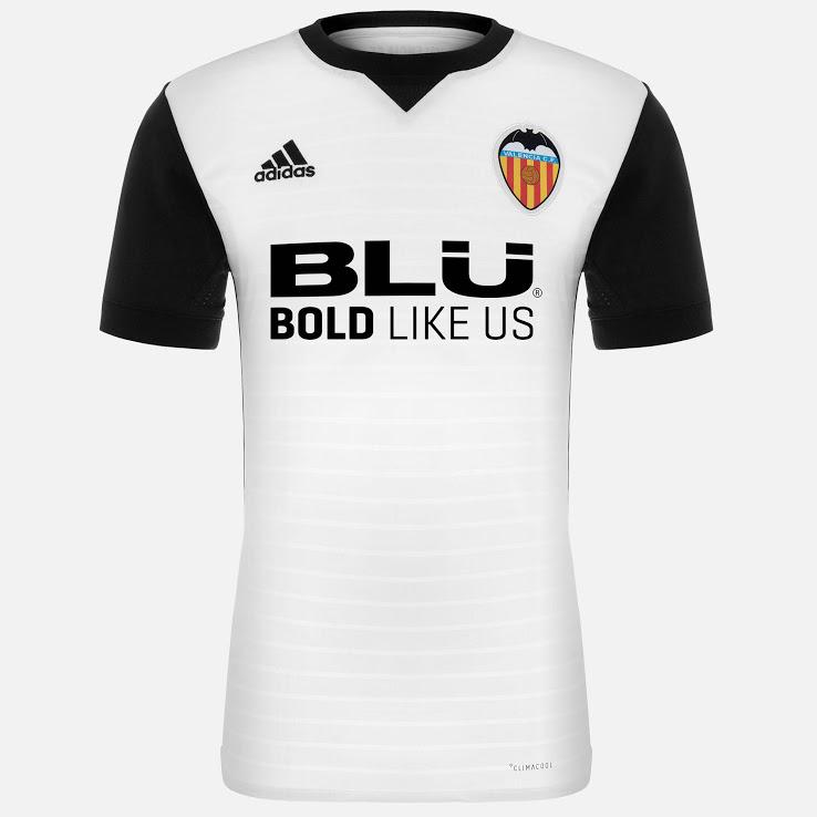 Valence 2018 maillot foot domicile Valencia CF