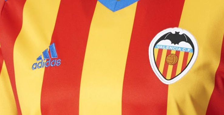 Valencia 2018 maillot extérieur foot Adidas