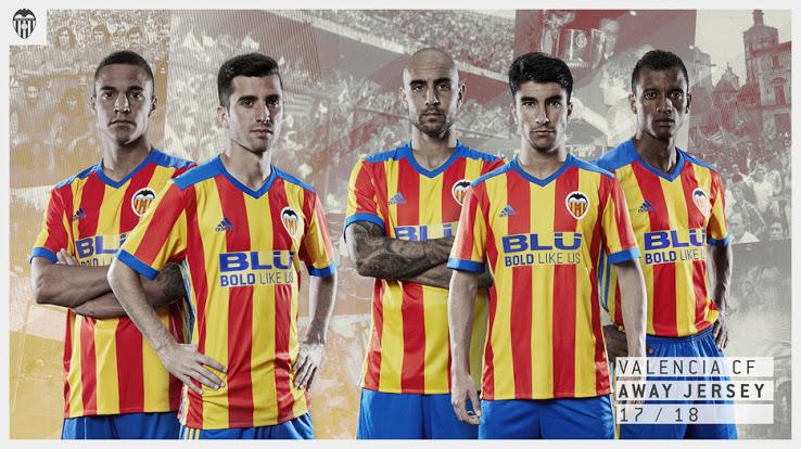 Valencia 2018 maillot exterieur officiel